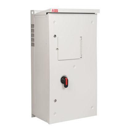 Picture of 10 HP ACH580, NEMA 3R, Circuit Breaker